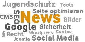 Webdesign, Internetrecht News